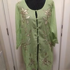 Womans embroidered tunic